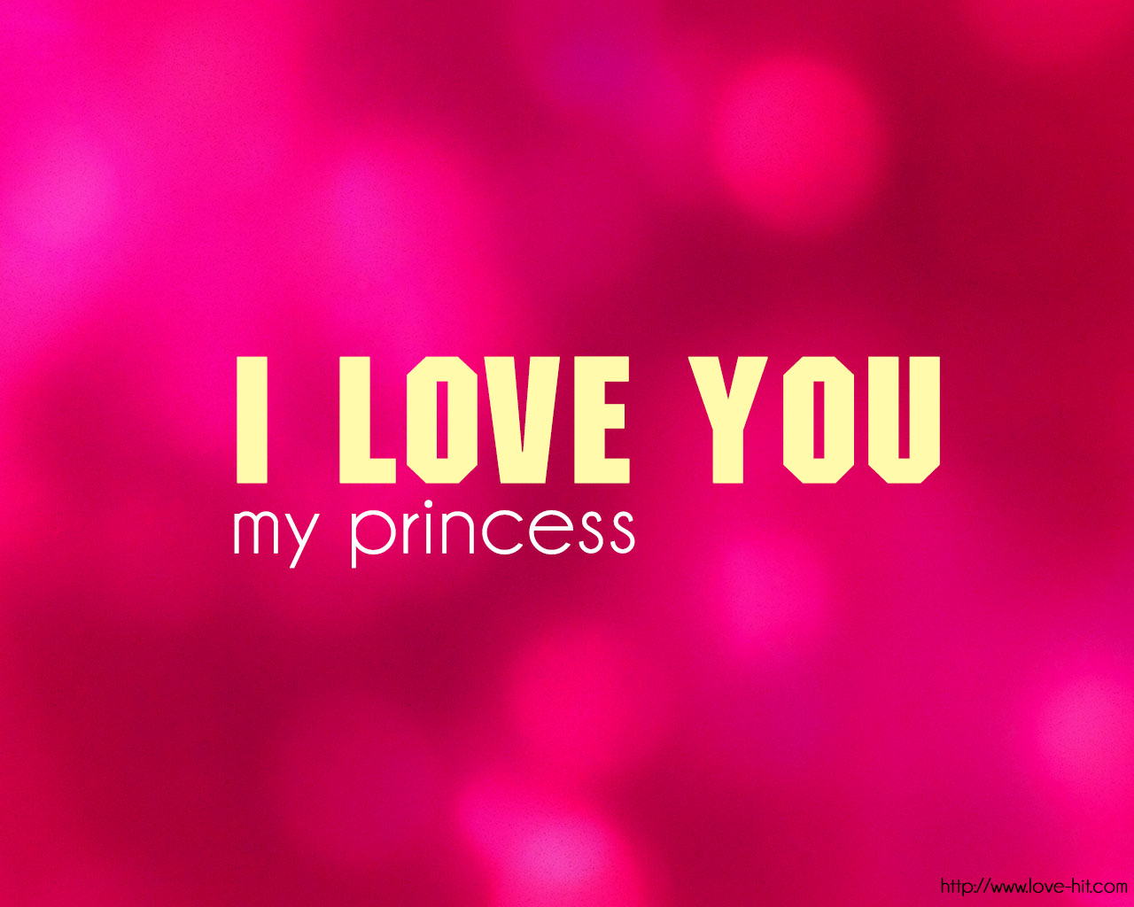 i love you my princess