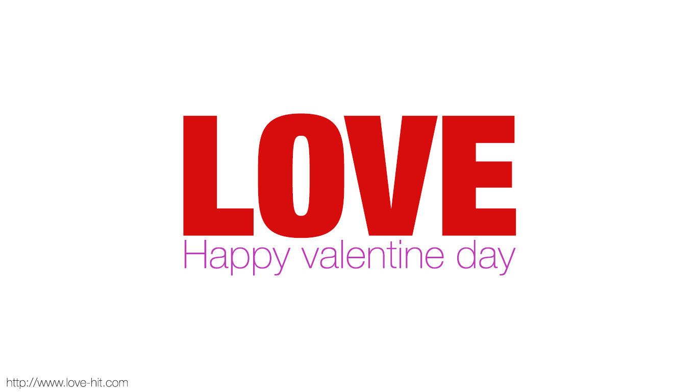 Love- Happy valentine day
